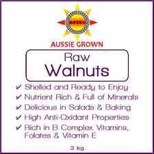 Walnuts Raw 3kg (no shell) - Australian Grown