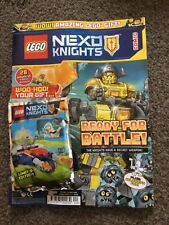 LEGO NEXO KNIGHTS COMIC SPECIAL 1 LIMITED EDITION LEGO LANCES MICRO LIMO