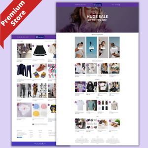 Fashion Store Amazon Business Affiliate Dropshipping Website Free Hosting