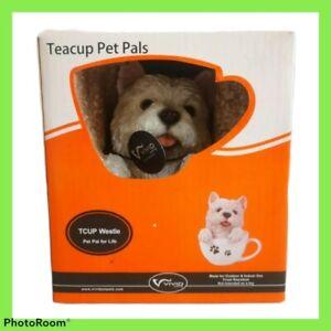 Teacup Pet Pals Westie Vivid Arts Indoor Outdoor Statue West Highland Terrier
