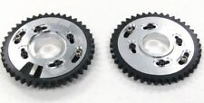 OBX Silver Adjustable Cam Gear Sprocket For 1996-2004 Ford Mustang 4.6L 2Pc. Set