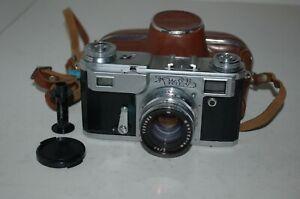 Kiev-4a Vintage 1972 Soviet Rangefinder Camera, Case. Serviced. 7200920. UK Sale