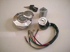 Honda S90 ZK1 CS90Z CL90ZK1 Steering Lock Set Ignition Switch Gas Fuel Tank Cap