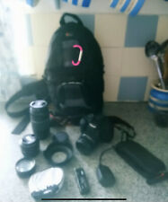 Canon EOS 1100d With Lenses And Accessories