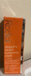 2 PackRodial Dragon's Blood Hyaluronic Mask Hydrate Tone 50ml1.7oz Full Size NIB