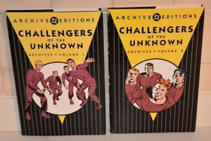 Challengers of the Unknown Archives Volume 1 & 2 DC Archive Editions NR