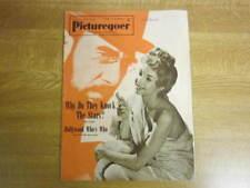 March 1953, PICTUREGOER, Colette Marchand, Yvonne De Carlo, Edmund Purdom.