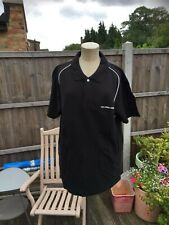 Genuine Mc LAREN HONDA F1 Formula 1 black polo shirt Size L Large BRAND NEW.