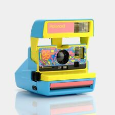 Polaroid Blue 96 Edition 600 Camera