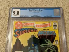 DC COMICS PRESENTS 47 **CGC 9.8** Masters of the Universe! First He-Man + Teela