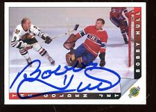 1992 Ultimate Hockey Card Bobby Hull Autographed Hologram