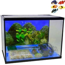 Aquarium inkl. Zubehör Kinderaquarium Starter Set Terrarium Fische Pumpe