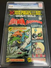 BRAVE AND THE BOLD #114 * CGC 9.0 * (DC, 1974) APARO COVER & ART! 100 PAGE GIANT