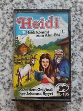 ++  MC Kassette Hörbuch Heidi kommt zum Alm-Öhi Folge 1 ++