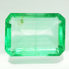 RARE & NICE OCTAGON SHAPE 29.10 CT 100% NATURAL FLUORITE GEMSTONE
