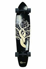 "Quest The Super Cruiser Gaia Artisan Maple 44"" Longboard Skateboard"