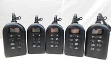 Lot of 5 MyTouchSmart 26898-P1 Indoor & Outdoor Digital Timer Black