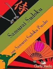 NEW Samurai Sudoku: 100 samurai sudoku puzzles by Clarity Media