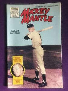 MICKY MANTLE #1 NUMBER ONE OF A CONTINUING SERIES -  (9.4) 1991