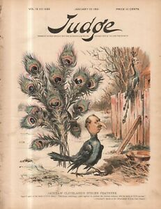 1891 Judge January 10 Cleveland takes credit; Uncle Sam cheers the GOP on