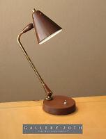 KURT VERSEN DESK LAMP THURSTON MID CENTURY MODERN LIGHTOLIER VTG 50S KNOLL RETRO