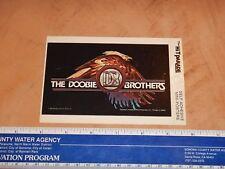 Original 1982 The Doobie Brothers Hit Parade Self Adhesive Mini-Poster Sticker