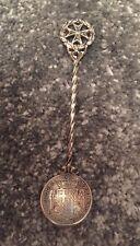 Orden de Malta de, Emmanuel De Rohan, vi 1780 rara moneda de plata antigua Tari Cuchara