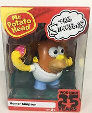 The Simpsons Homer Simpson Mr Potato Head Collectible Toy, Brand  New