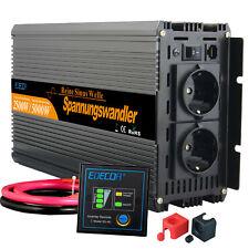 Reiner Sinus Spannungswandler Wechselrichter 2500/5000 watt 24V auf 230V LKW