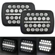 "Eagle Lights 5"" x 7"" SLIM LINE Multi LED Projection Headlight - 2 Pack"