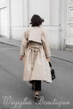 V-Neckline Patternless Topshop Coats & Jackets for Women