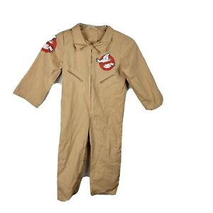 Ghostbusters Jumpsuit Costume Boys Girls Size Small Halloween Dress-Up Pretend