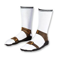 Novelty Brown Funny Amusing Sandal Socks Footwear Size 5-11 Gift Kids Adults Fun
