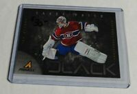 CAREY PRICE - 2011 PINNACLE - BLACK - #4 - CANADIENS -