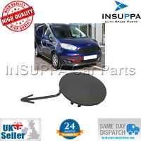 FRONT BUMPER TOW HOOK CAP PAINTABLE FOR FORD TOURNEO TRANSIT COURIER 2014 ON
