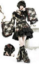 Gothic Lolita Kimono Dress Jacket Set Kawaï Leg Warmers Geisha Japan PunkRave