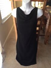 LITTLE BLACK DRESS WITH RED LINING BY EXPRESS