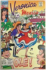 VERONICA#8 VF 1990 'IN MEXICO' ARCHIE COMICS