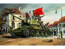 T34/76 Model 1943 Tank, 1/16 by Trumpeter, Model Vehicle 9580208009032
