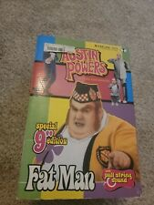 New listing Rare 9 Inch Deluxe Talking Fatman Fat Man Austin Powers Figure Sound Chip A
