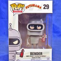 Funko Pop Vinyl Figure Television Futurama #29 Bender Vaulted  FUN5234