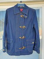 Vintage Ralph Lauren Chaps True American Brand Denim Jean Jacket