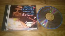 CD Country Johnny Paycheck - Greatest Hits (15 Song) ACCLAIM
