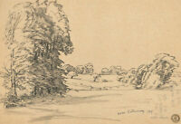Frank Griffith (1889-1979) - 1919 Pen and Ink Drawing, Near Billericay