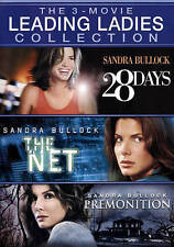 28 Days/The Net/Premonition (DVD, 2015)New,Drama,Comedy,Sandra Bullock