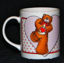 Vintage Toscany 1985 Bear Feet Family Here's My Heart Coffee Mug Cup