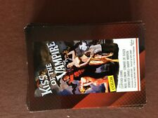 Ca4 Trade Card  classic sci fi & horror posters kiss of the vampire