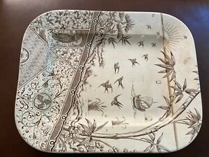 G & W Late Mayers 1883 Melbourne Platter - A must for any collection!