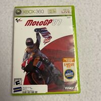 (Complete) MotoGP '07 Xbox 360 THQ Climax Microsoft 2007 Motorcycle Racing Game
