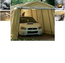 ShelterLogic AutoShelter 10 x 15 x 8 ft. Instant Garage, Tan, 10x15 Car Shelter